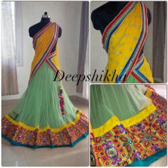 Indian Dresses, Indian Outfits, Indian Clothes, Lehenga Choli, Sarees, Sharara, Langa Voni, Half Saree, Indian Ethnic Wear