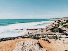 Portugal, naturel et paradisiaque - Spots secret - via Hello La Roux 12.06.2015 | Découvrez la parc naturel portugais d'Arrabida, et ses plages paradisiaques, méconnu des touristes et encore préservé à 40 minutes seulement de Lisbonne. Photo: Ericeira