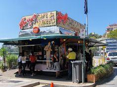 Harry's Cafe de Wheels - try one of Sydney's iconic pies. #Sydney, #Australia