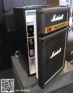 Mini-Fridge disguised as a stereo equipment