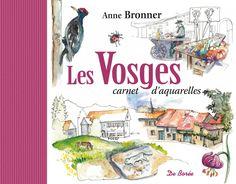 Anne Bronner, artiste et voyageuse, connait bien la Médiathèque 54 ou elle a animé des ateliers. Ici elle nous invite dans les Vosges de l'Alsace à la Lorraine. Grâce à ses aquarelles, on y reconnaît les couleurs et les lumières.