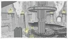 ArtStation - Destiny concept art, Darren Bacon