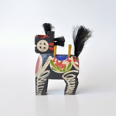 Kinoshita-Koma Shinto Wooden Horse Amulet