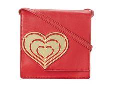 Jonathan Adler Vera Heart Crossbody Cherry Red - 6pm.com