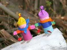 Winter Crafts For Toddlers, Winter Activities For Kids, Winter Kids, Christmas Crafts For Kids, Bear Crafts, Toilet Paper Roll Crafts, Creative Gift Wrapping, Winter Theme, Preschool Crafts