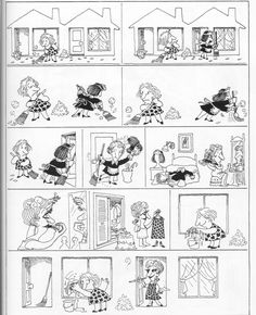 Sunday Comics Debt: Comics With a Message Funny French, Pure Fun, Humor Grafico, Fun Comics, Animated Cartoons, Sign Language, Good Mood, Drawing Reference, Comic Strips