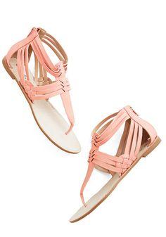 just delightful sandal #modcloth
