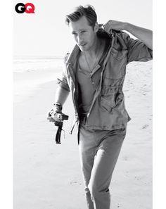 Alexander Skarsgard in GQ. Mmm!