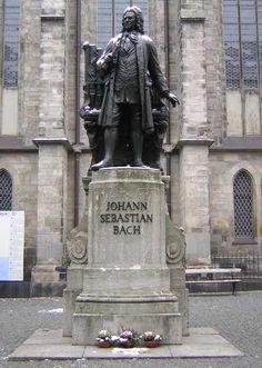 St. Thomas Church, Leipzig - the church of Johann Sebastian Bach