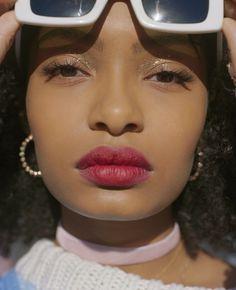 Yara Shahidi photographed by Emman Montalvan for Wonderland Magazine Spring 2017  Stylist: Ade Samuel  Hair: Steven Mason Makeup: Tasha Brown
