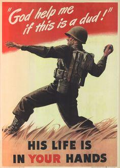 ART & ARTISTS: World War 2 Propaganda Posters – part 3