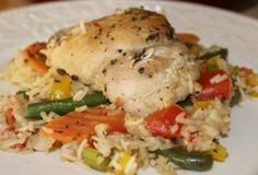 Italian Chicken and Rice Casserole - fast and easy recipe (640x436)