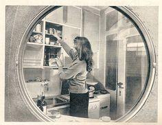 1959 Das Haus, Juni Ludowici Rundhaus #2;  photo of a photo, by diepuppenstubensammlerin, via Flickr