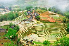 Trek au Vietnam dans la superbe région de Sapa.