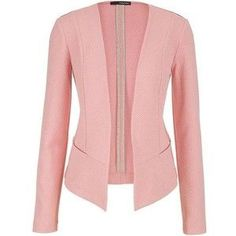 maurices Blazer With Textured Fabric In Pink Clay