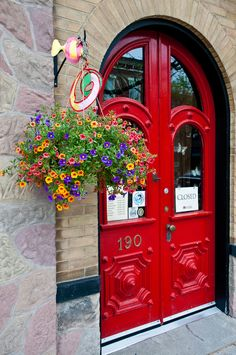 Red and Bold - RED DOORS ARE MY FAVOURITE.