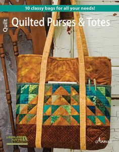 Quilted Purses and Totes For All Seasons	LA6445