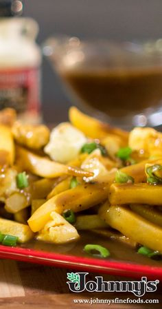 Create your own gravy with Johnny's Au Jus and Seasoned Pepper! Skillet Bread, Cheese Curds, Seasoned Salt, Poutine, Artichoke Dip, Dinner Sides, Bread Rolls, Stuffing, Gravy
