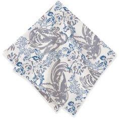 Batik Bird Napkin (Set of 4) Used