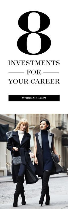 Career infographic & Advice 8 Investments for your Career. Image Description 8 Investments for your Career Career Success, Career Change, Career Goals, Career Advice, Career Quiz, Career Help, Career Ideas, Career Development, Professional Development