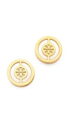 Tory Burch earrings (: