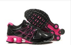 best service 39e43 5866b Womens Black and Pink Nike Shox Turbo 2 ...I want these so bad