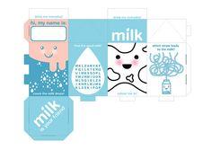 Printable Milk Carton Template | milk carton | Flickr - Photo Sharing!