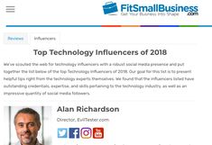Published: Digital Marketing FIT Small Business Influencers Helpful Hints, Digital Marketing, Social Media, Goals, Technology, Business, Fit, Tecnologia, Useful Tips