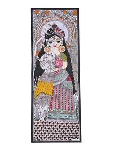 Aradhanareshwar Painting x Ganesha Painting, Madhubani Painting, Indian Art Paintings, Amazing Paintings, Indian Drawing, Madhubani Art, Indian Folk Art, Mandala Drawing, Painted Books