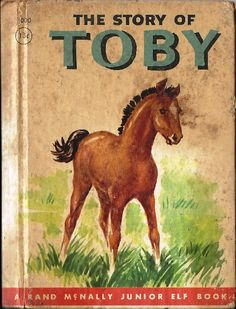 1950 The Story of Toby Childrens Book Rand by TheIDconnection, $15.00