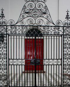 Charleston SC, Red Door