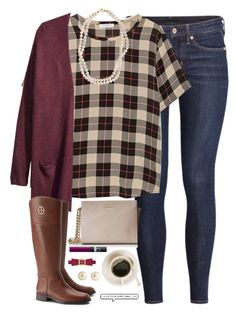 """""""we all have that one person we will always have feelings for."""" by kaley-ii ❤ liked on Polyvore featuring H&M, Equipment, STELLA McCARTNEY, Tory Burch, Kate Spade and NARS Cosmetics"""