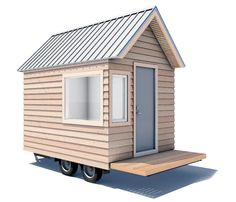 Camera Buildings- tiny house company that allows you to input your design on the website to see what the final cost would be. Awesome!