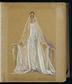 Robe de mariée,1923 © Patrimoine Lanvin. #Lanvin125
