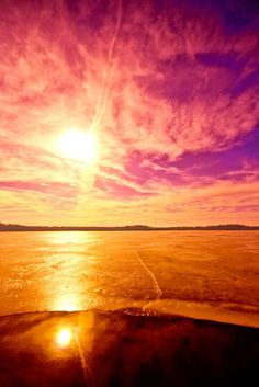 Beautiful sunset   nature     sunrise     sunset   #nature https://biopop.com/ Missing you always!