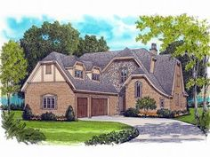 2-Story House Plan, 029H-0099