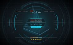 Isobar Explorer by Rafał Zagórny, via Behance