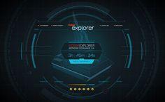 Isobar Explorer by Rafał Zagórny, via Behance