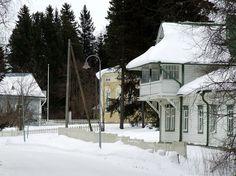 Liminka Museum Area.  Northern Ostrobothnia - Pohjois-Pohjanmaa - Norra Österbotten