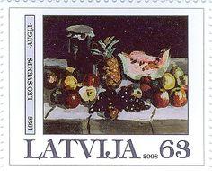 """2008.gadā """"Latvijas Pasts"""" izdeva pastmarku, uz kuras attēlota mākslinieka Leo Svempa (1897 – 1975) gleznas """"Augļi"""" reprodukcija. Leo Svemps ir dzimis 1897.gada 19.jūlijā Beļavas pagasta """"Barānos"""". Izglītību jaunais gleznotājs ir ieguvis Rīgas Pareizticīgo garīgajā seminārā un Maskavas Universitātes Juridiskajā fakultātē. Leo Svemps bijis Latvijas Mākslas akadēmijas rektors, profesors un pedagogs, kā arī Mākslinieku savienības valdes priekšsēdētājs."""