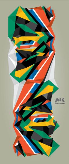 Best South African Colours Africa Shapes images on Designspiration African Colors, African Theme, African Patterns, African Logo, South African Flag, Shapes Images, Africa Art, West Africa, Flag Art