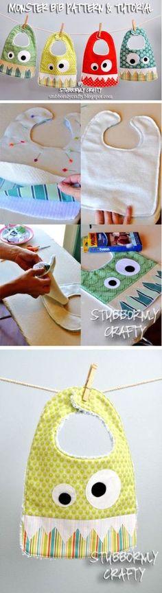 El Yapımı Bebek Önlüğü Modelleri | Baby Bibs