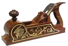 This is an original design for a hand plane.