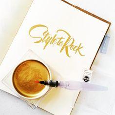 Style to Rock #calligrafikas #brushlettering
