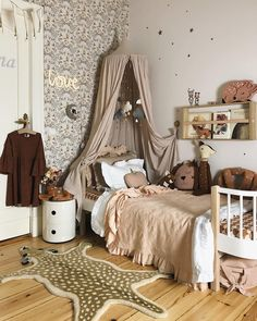 You will find this nursery design the most fun!- Sie finden dieses Kinderzimmer-Design am meisten Spaß! You will find this child& room design the most fun! # THIS room design - Kids Room Design, Nursery Design, Girl Kids Room, Child Room, Baby Bedroom, Girls Bedroom, Bedroom Ideas, Childs Bedroom, Kid Bedrooms