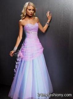prettiest prom dresses in the world 2016-2017