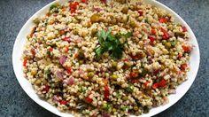 Kuskus salatası -Couscous Salad