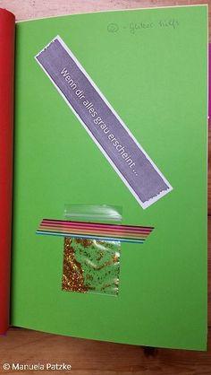 Wenn dir alles grau erscheint ...    Wenn Buch | Bastelanleitung | Wenn Buch Ideen | Wenn Buch basteln | Geschenksidee | selbstgemachte Geschenke