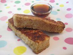 French Toast Sticks on Weelicious