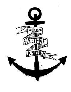 Anchor is a little rough but I like the faithful anchor idea